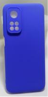 Θήκη ματ TPU σιλικονη μαλακή πίσω κάλυμμα για XIAOMI Mi 10T / 10T Pro μπλε   (oem)