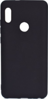 Θήκη Σιλικόνης για Xiaomi Redmi Note 5 / 5 Pro - Μαύρη Ματ με glossy περιφέρεια(OEM)