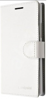 Lenovo Vibe P1m - Δερμάτινη Stand Θήκη Πορτοφόλι Άσπρο (OEM)