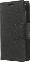 Samsung A40 Θήκη Book Wallet Δερματίνης με κούμπωμα - Μαύρο