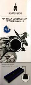 Βάση Spartan Gear Black Vertical Stand with USB Hub and Blue light για PS4