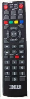 Εξυπνό τηλεχειριστήριο για TV και δέκτες DIGITALBOX