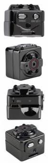 Mini DV Κάμερα 1080p SQ8 Μαύρο (Oem)