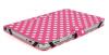 """Δερμάτινη Θήκη για το Acer Iconia 10.1"""" W510 A210 A211 Ροζ Με Άσπρες Βούλες (OEM)"""