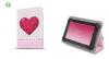 """Θήκη Tablet Universal 9"""" - 10"""" GreenGo με σχέδιο καρδια"""
