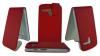 Motorola Moto G / Moto G X1032 - Δερμάτινη Θήκη Flip Κόκκινη (OEM)