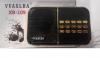 Φορητό ραδιόφωνο FM και MP3 XB-109 ΚΟΚΚΙΝΟ