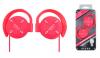 Keeka Stereo Ακουστικά KA-12 Φούξια