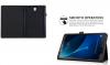 Δερμάτινη θήκη για Samsung Galaxy Tab A 10.5 T590 T595 ΜΑΥΡΗ (OEM)