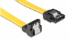 Καλώδιο SATA III 7-pin/7-pin 90° 0.5m POWERTECH CAB-W026