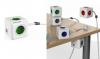 Πολύμπριζο Κύβος ALLOCACOC PowerCube Extended USB 4 ΘΕΣΕΩΝ Κ 2 USB  Πράσινο 1406GN/DEEUPC