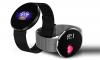 SmartWatch CF006H με Αδιάβροχη οθόνη αφής και Bluetooth,βραχιόλι - Μαύρο