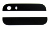 iPhone 5S Top And Bottom Bezel Part Set Of Back Cover in Black