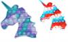 Pop It Παιχνίδι  ΑντιΣτρες - Bubble νερομπογιες χρωματισμος ΜΟΝΟΚΕΡΟΣ (oem)(bulk)