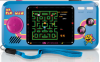 Φορητή παιχνιδομηχανή DRG MS.PAC-MAN HANDHELD POCKET PLAYER - 3 παιχνιδια - μπλε χρωμα