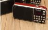 Y-501 Mini ΦΟΡΗΤΟ LCD ΨΗΦΙΑΚΟ ΡΑΔΙΟ FM - ΗΧΕΙΟ USB Disk TF AUX Mp3 Music Player κοκκινο χρωμα