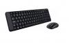 Logitech Πληκτρολόγιο-ποντίκι MK220 Ασύρματο