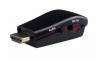 HDMI 19PIN ΣΕ VGA POWERTECH ΜΕΤΑΤΡΟΠΕΑΣ, ΜΕ AUDIO JACK, USB POWER, BLACK CAB-H076