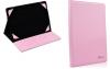 BLUN Οικολογική Δερματίνη  Universal αναδιπλούμενη θηκη για Tablet 10.0 Ροζ (ΟΕΜ)