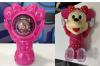 Πορτατίφ Led disco ball με μουσικη Παιδικό για Κρεββάτι/Γραφείο σχεδιο Minnie  (OEM)