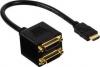 Valueline HDMI male to splitter DVI-D female (VGCP34950B0.20)