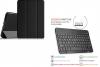 Δερμάτινη Θήκη Bluetooth με Πληκτρολόγιο για το Samsung Galaxy Tab S3 9.7 (T820) Μαύρη (OEM)