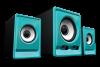 AUDIOBOX A100-U DOUBLE BASS 2.2 SPEAKER SYSTEM ΧΡΩΜΑ ΓΑΛΑΖΙΟ A100-U TURQUILA