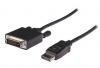 Καλώδιο VLCP 37200 B2.00 DISPLAYPORT – DVI CABLE DISPLAYPORT MALE 2 MTR