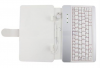 """Leather Case with Keyboard 7"""" for Tablet Με USB - Λευκό LCWKB7USBB OEM"""