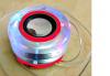 Ασύρματο Φορητό Κρυστάλλινο Ηχείο  XH-MS48  Κόκκινο