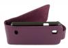 ZTE Kis V788d Leather Flip Case Purple  ZTEKV788LFCPU OEM