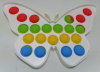 Pop It Παιχνίδι  ΑντιΣτρες - Bubble  Pop It ουρανιο τοξο χρωματισμός  Πλαισιο Πεταλουδας (oem)(bulk)
