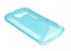 Θήκη TPU Gel Case S-Line για Alcatel One Touch Fire 4012A Διαφανές Γαλάζιο (OEM)