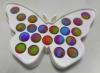 Pop It Παιχνίδι  ΑντιΣτρες - Bubble  Pop It νερομπογιες χρωματισμός  Πλαισιο Πεταλουδας (oem)(bulk)