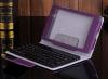 Δερμάτινη Θήκη Bluetoth με Πληκτρολόγιο για το Asus Google Nexus 7 2013 FHD 2nd Μώβ (OEM)