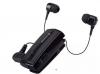 Στερεοφωνικό Ακουστικό Bluetooth iXchange Retractable με Δόνηση -  με αποσπώμενο το 2ο ακουστικό UA-28QT-V σε μαυρο χρωμα