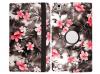 Δερμάτινη θήκη για Samsung Galaxy Tab A 10.5 T590 T595 με λουλούδια (OEM)
