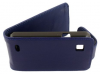 ZTE Kis V788d Leather Flip Case Blue ZTEKV788LFCB OEM