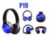 Ακουστικά Bluetooth Pangpai P19 Wireless με ράδιο ΜΠΛΕ