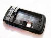 Μεσαίο πλαίσιο για Blackberry 9700 Bold + Camera Lens ΜΑΥΡΟ (ΟΕΜ)