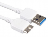 Samsung Regular USB 3.0 to micro USB Cable Λευκό 1m
