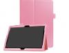 Δερματίνη Θήκη για Huawei MediaPad T3 10 Ροζ (OEM)