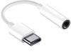 Αντάπτορας  USB Type-C to Female Audio Jack 3.5mm λευκός (oem)