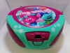 THE TROLLS  της DreamWorks Φορητό ραδιόφωνο με CD / USB / MP3 / AUX και οθόνη LCD