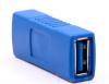 Αντάπτορας USB 3.0 FEMALE σε USB FEMALE A  (ΟΕΜ)