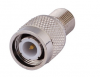 RF TNC to F Coaxial Adapter TNC Male Plug to F Female Jack straight (English-Version) (BULK)(OEM)