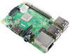 Raspberry Pi 3 Model Β+ Quad Core CPU 64 Bit 1.4GHZ, 1GB RAM