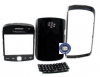 Blackberry 9360 Chrome bezel with back cover,lens, keypad black