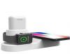 Devia ασύρματος σταθμός φόρτισης 3-σε-1, αποκλειστικά  για Apple ρολοι, κινητα και ακουστικα σε Λευκο