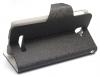 Δερμάτινη Stand Θήκη/Πορτοφόλι για Alcatel One Touch Pop C7 OT-7041D Μαύρο (OEM)
